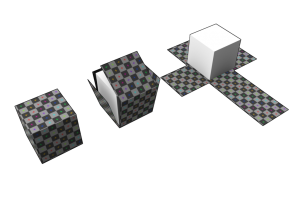 UV Unwrapping Example. Source: Wikipedia