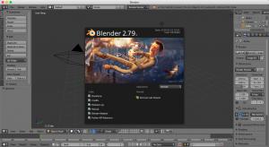Blender Splash Screen