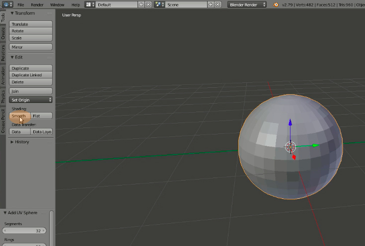How to make a  glTF model for Facebook tutorial | Nakamura Sei